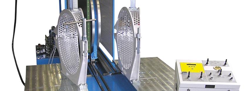 Machine de soudage plastique atelier jusqu'au DE 630 mm