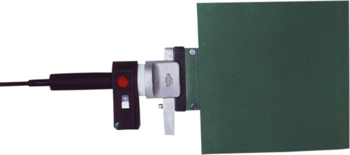 Máquina soldadora de plástico WIDOS elemento calefactor manual hasta DE 280 mm