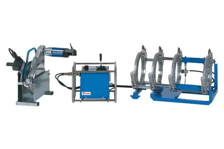 Kunststoffschweißmaschine Baustelle bis DA 250