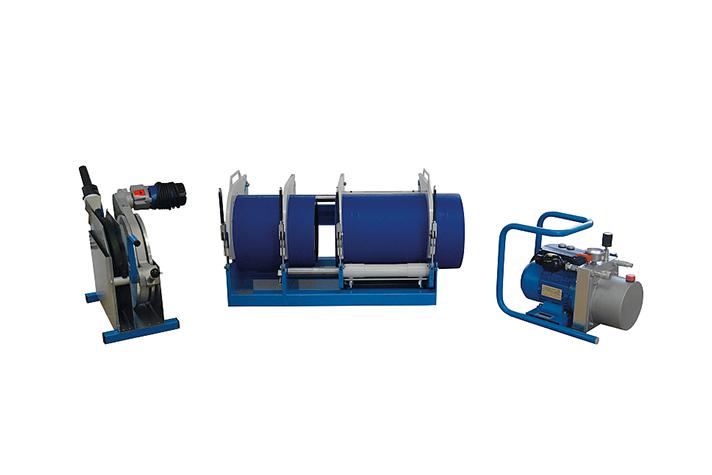 Kunststoffschweißmaschine Baustelle bis DA 315 mm