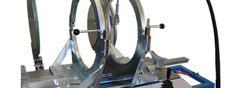 Kunststoffschweißmaschine Werkstatt bis DA 450 mm