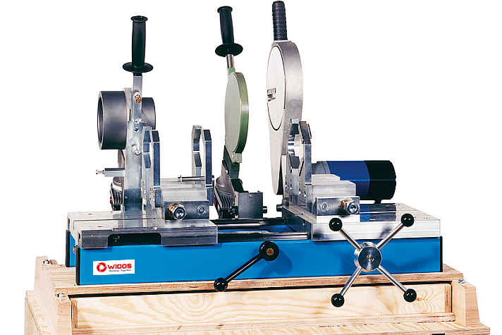 Machine de soudage plastique atelier jusqu'au DE 160 mm