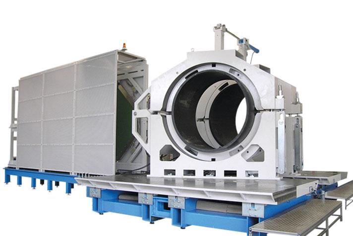 Machine de soudage plastique atelier jusqu'au DE 2400 mm