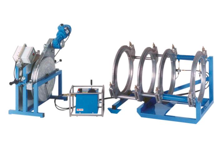 Machine de soudage plastique chantier jusqu'au DE 500 mm