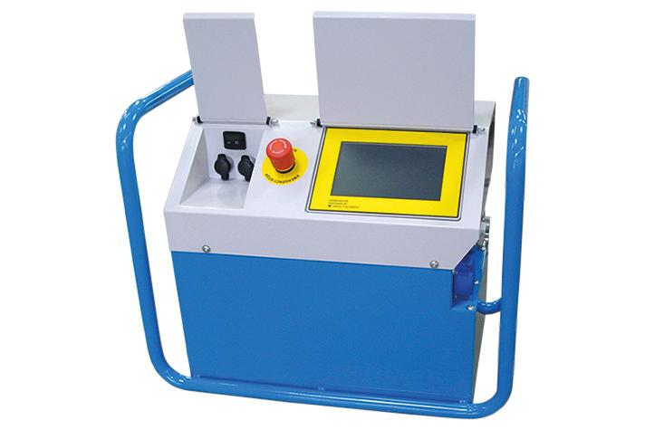 Máquina soldadora de plástico obra hasta DE 630