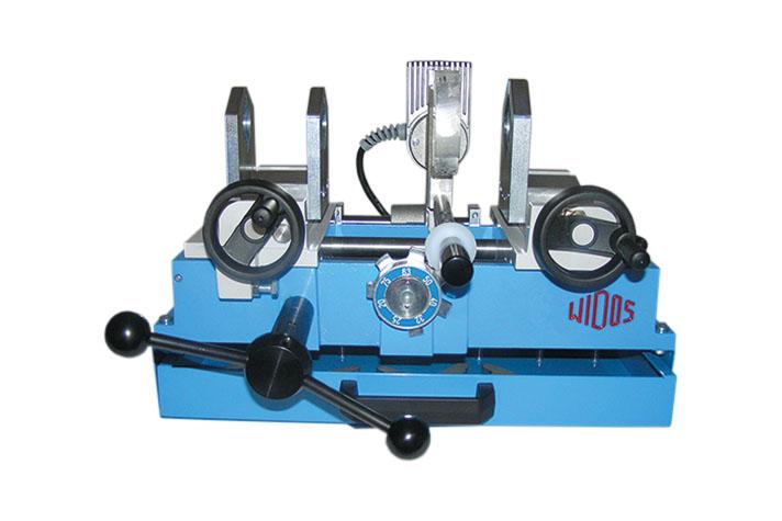 Máquina soldadora de plástico taller hasta DE 75 mm