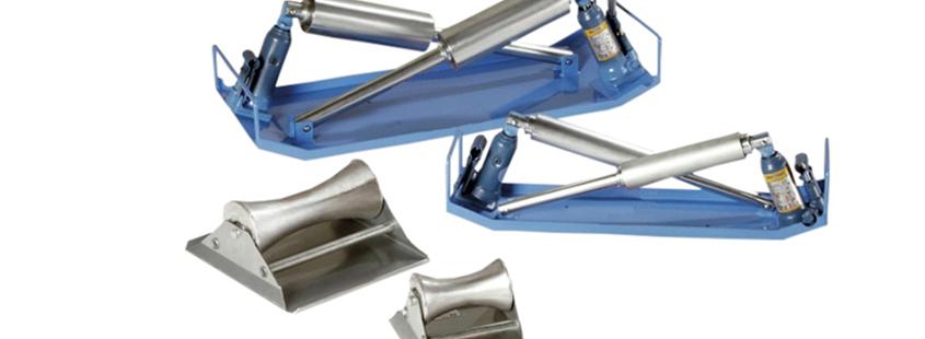 Soudage plastique WIDOS accessoires berceaux à rouleaux