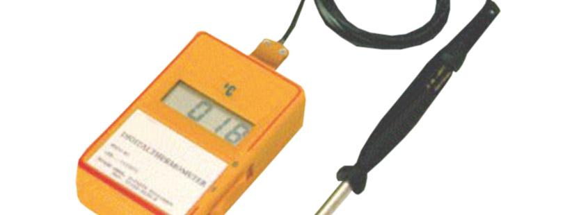 WIDOS Kunststoffschweißen Zubehör Temperaturmessgerät
