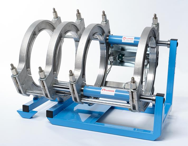 Kunststoffschweißmaschine Baustelle bis DA 355 mm