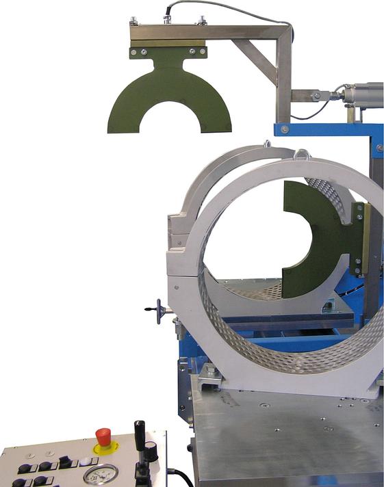 Machine de soudage plastique atelier jusqu'au DE 500 mm