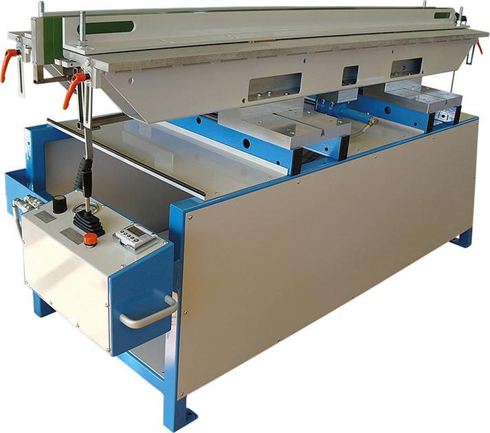 Kunststoffschweißmaschine Werkstatt bis 2000 mm Plattenlänge