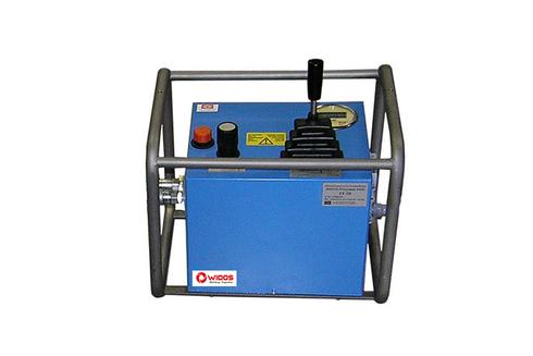 Máquina soldadora de plástico obra manual