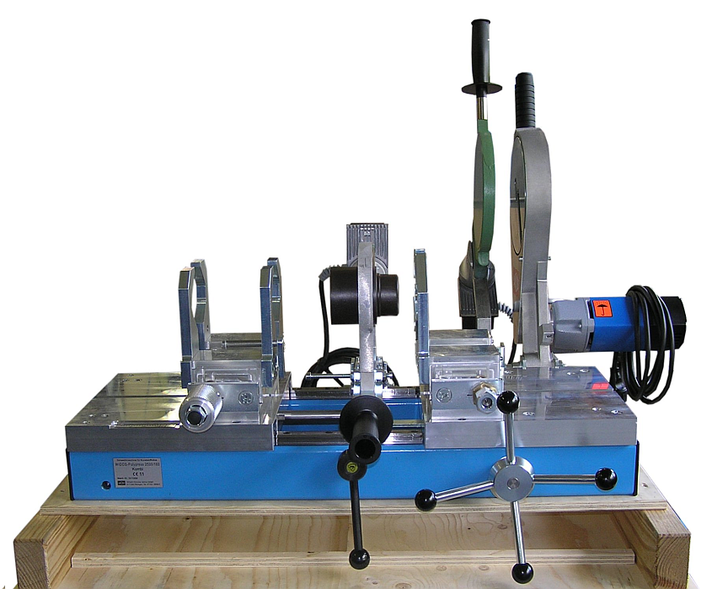 Machine de soudage plastique atelier jusqu'au DE 315 mm
