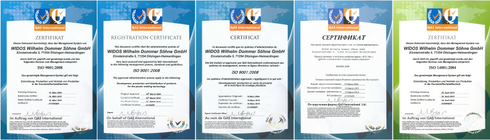 WIDOS-ISO-certificates