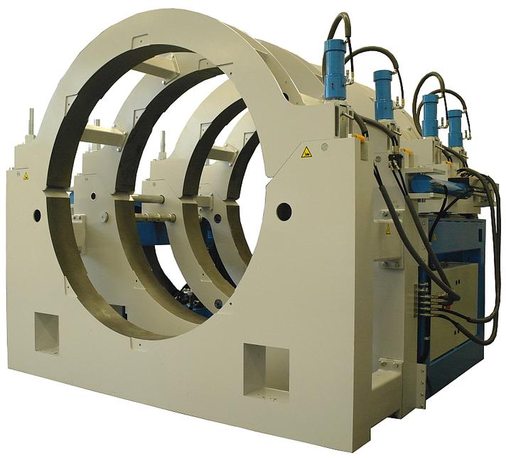 Kunststoffschweißmaschine Baustelle bis DA 2600 mm