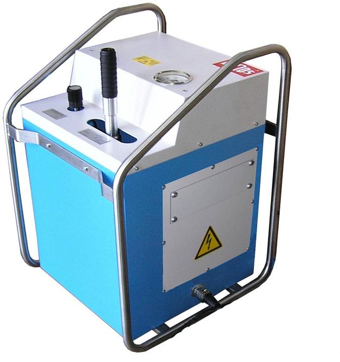 Machine de soudage plastique chantier jusqu'au DE 800 mm