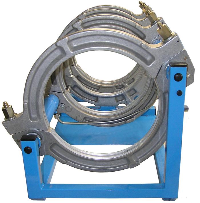 Máquina soldadora de plástico obra hasta DE 315 mm