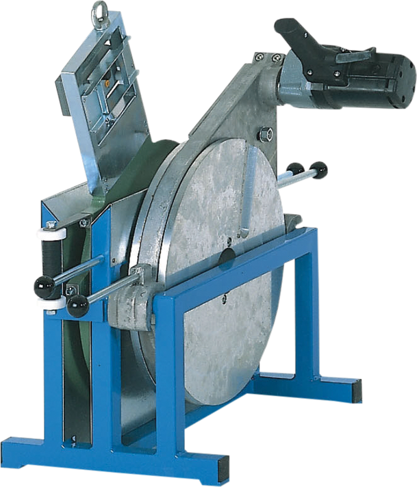Máquina soldadora de plástico obra hasta DE 450 mm