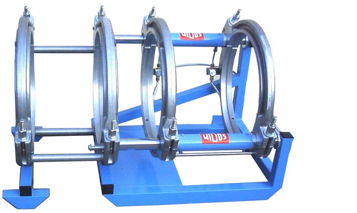 Machine de soudage plastique chantier jusqu'au DE 450 mm