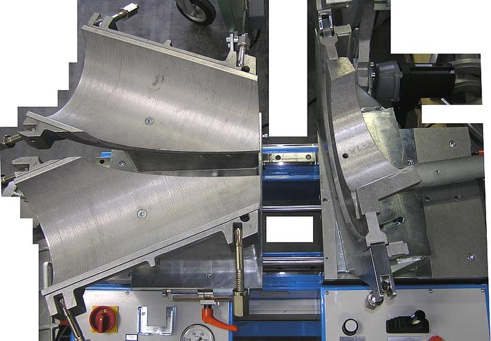 Kunststoffschweißmaschine Werkstatt bis DA 315 mm