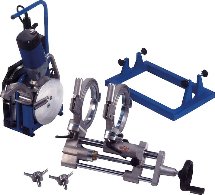 Machine de soudage plastique chantier jusqu'au DE 160 mm
