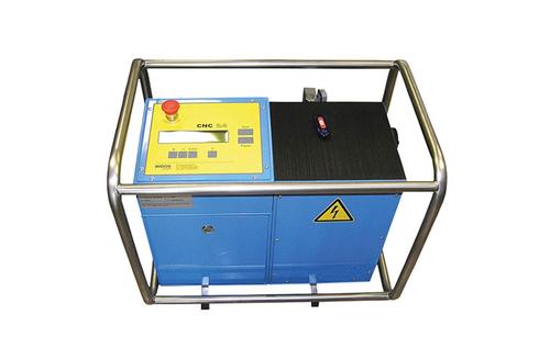 Kunststoffschweißmaschine Baustelle CNC