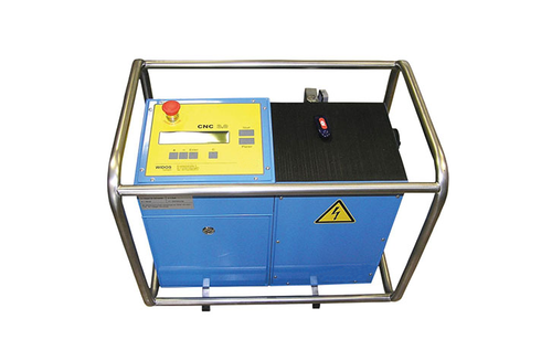 Plastic welding machine building site CNC
