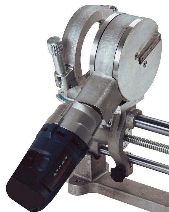 Máquina soldadora de plástico obra hasta DE 110 mm