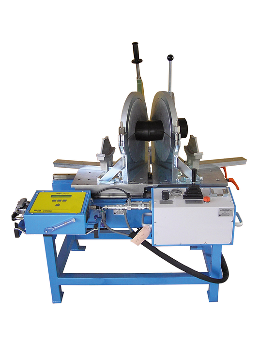 Plastic welding machine workshop up to OD 315 mm