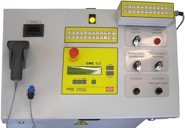 Máquina soldadora de plástico taller hasta DE 2400 mm