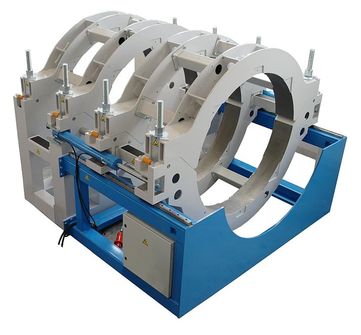 Máquina soldadora de plástico obra hasta DE 2000 mm