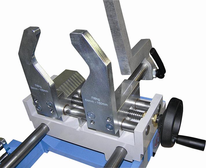 Máquina soldadora de plástico taller hasta DE 125 mm