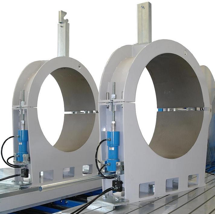 Máquina soldadora de plástico taller hasta DE 1600 mm