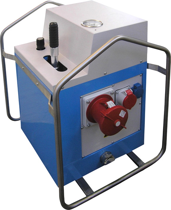 Machine de soudage plastique chantier jusqu'au DE 1600 mm