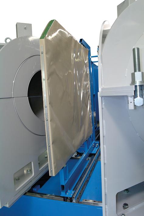 Máquina soldadora de plástico taller hasta DE 1200 mm
