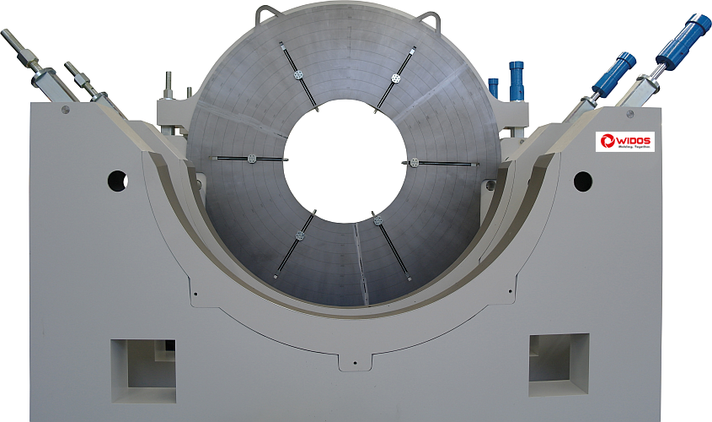 Máquina soldadora de plástico obra hasta DE 2600 mm