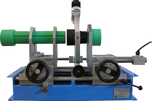 Máquina soldadora de plástico taller soldadura de uniones