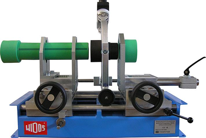 Kunststoffschweißmaschine Werkstatt Muffenschweißen