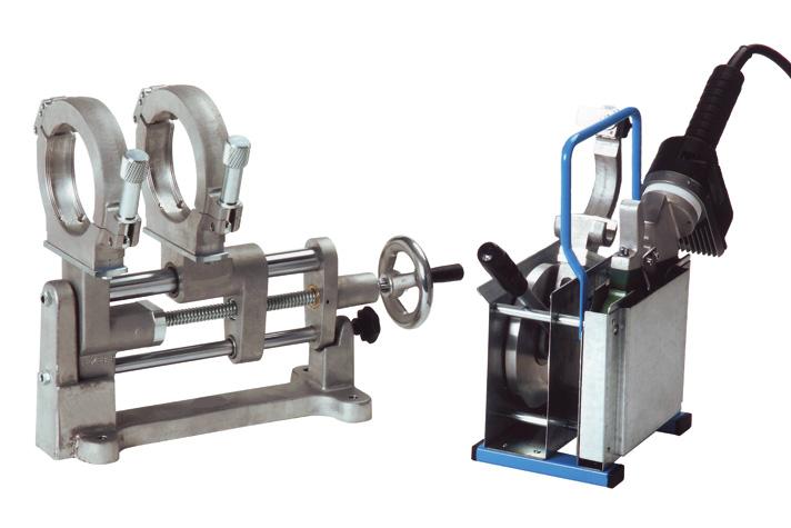 Machine de soudage plastique chantier jusqu'au DE 110 mm