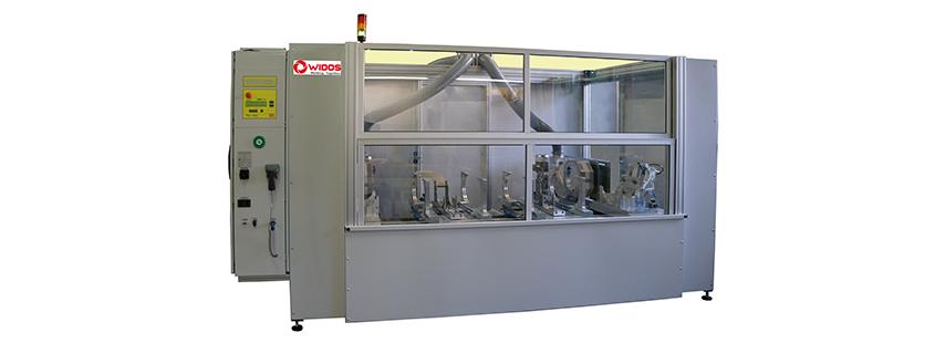 Plastic welding machine WIDOS_2500_S_CNC_Inge_Achema_2015