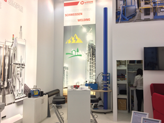 WIDOS Messestand IFAT 2018