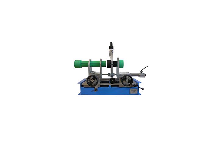 Machine de soudage plastique atelier jusqu'au DE 125 mm