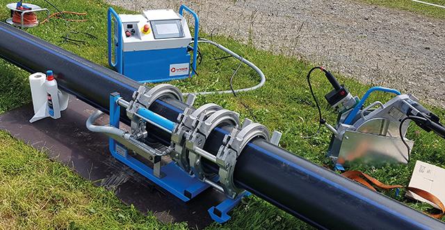 Mehr Produktivität mit WIDOS Kunststoffschweißmaschinen.